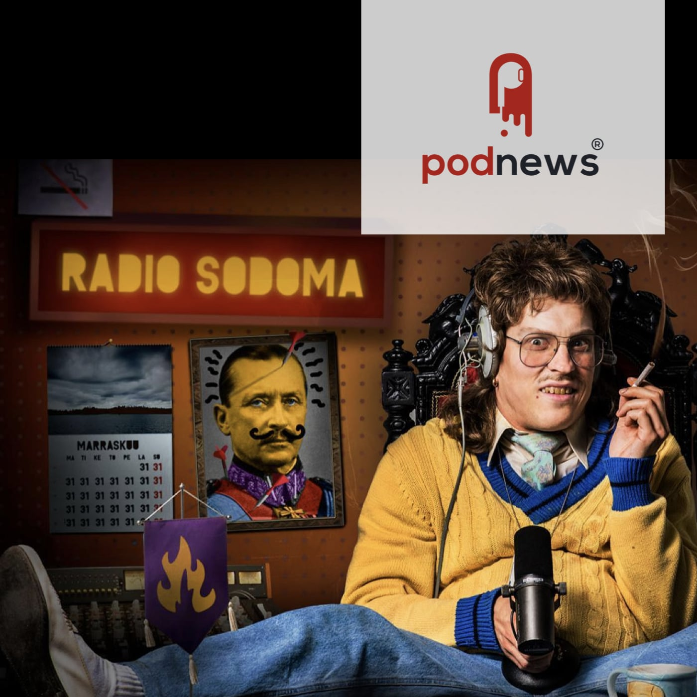 Radio Sodoma tops the charts in Finland; introducing 'microcasts'