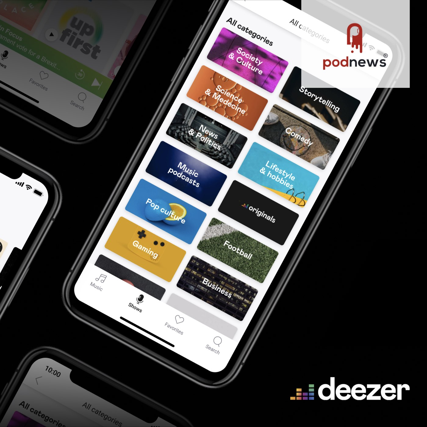 Podcasting on Deezer shows up in another 51 countries