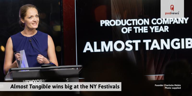 Almost Tangible wins big at the NY Festival Awards