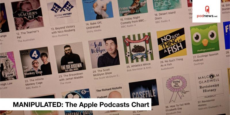 Manited The Top Charts On Le Podcasts Are Broken