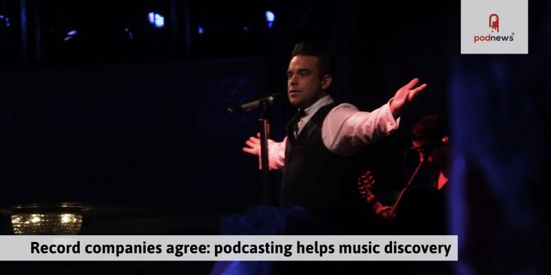 Record companies agree: podcasting helps music discovery