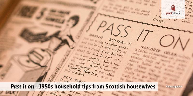 Household tips from the 1950's; and a PM19 session not to miss