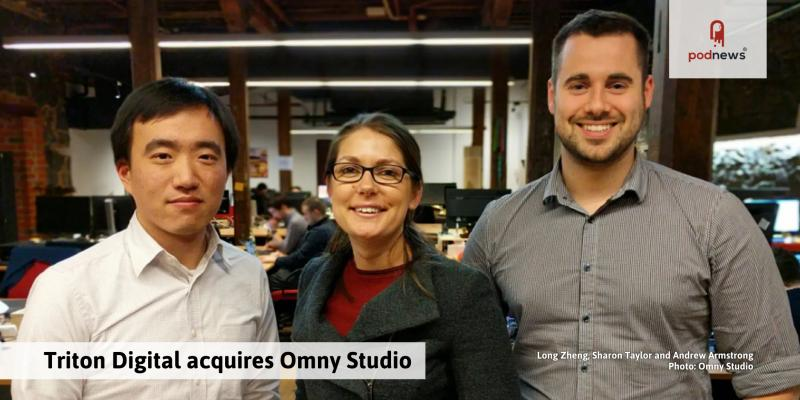 Triton Digital acquires Omny Studio