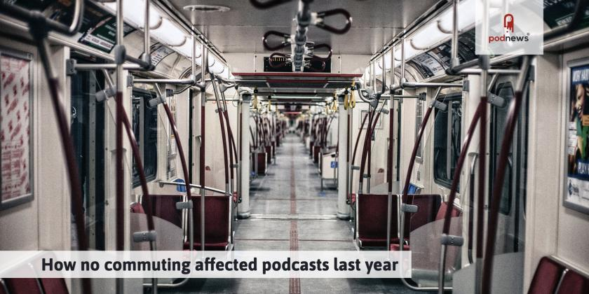 How no commuting affected podcasts last year