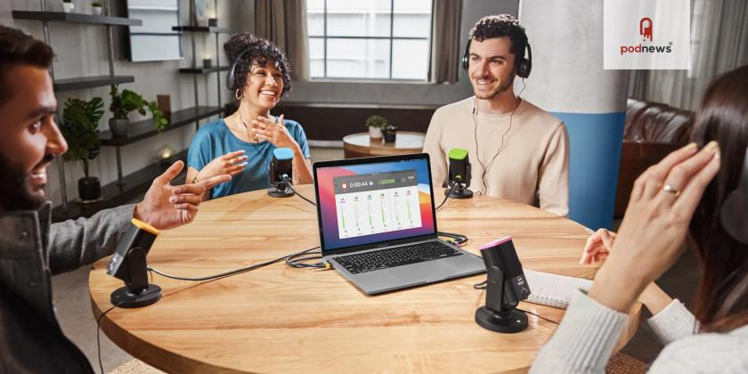 RØDE Connect lets you connect four NT-USB Mini microphones to one computer