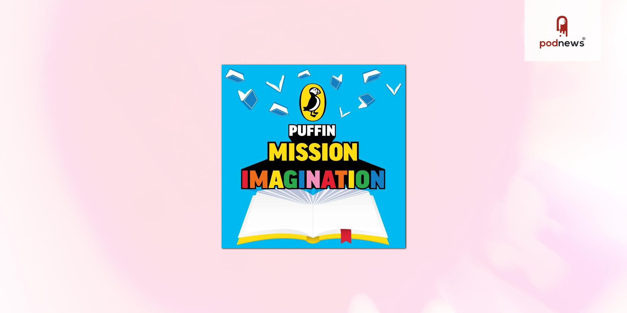 Puffin Podcast 'Mission Imagination' launched, hosted by multi award winning comedian Babatunde Aléshé