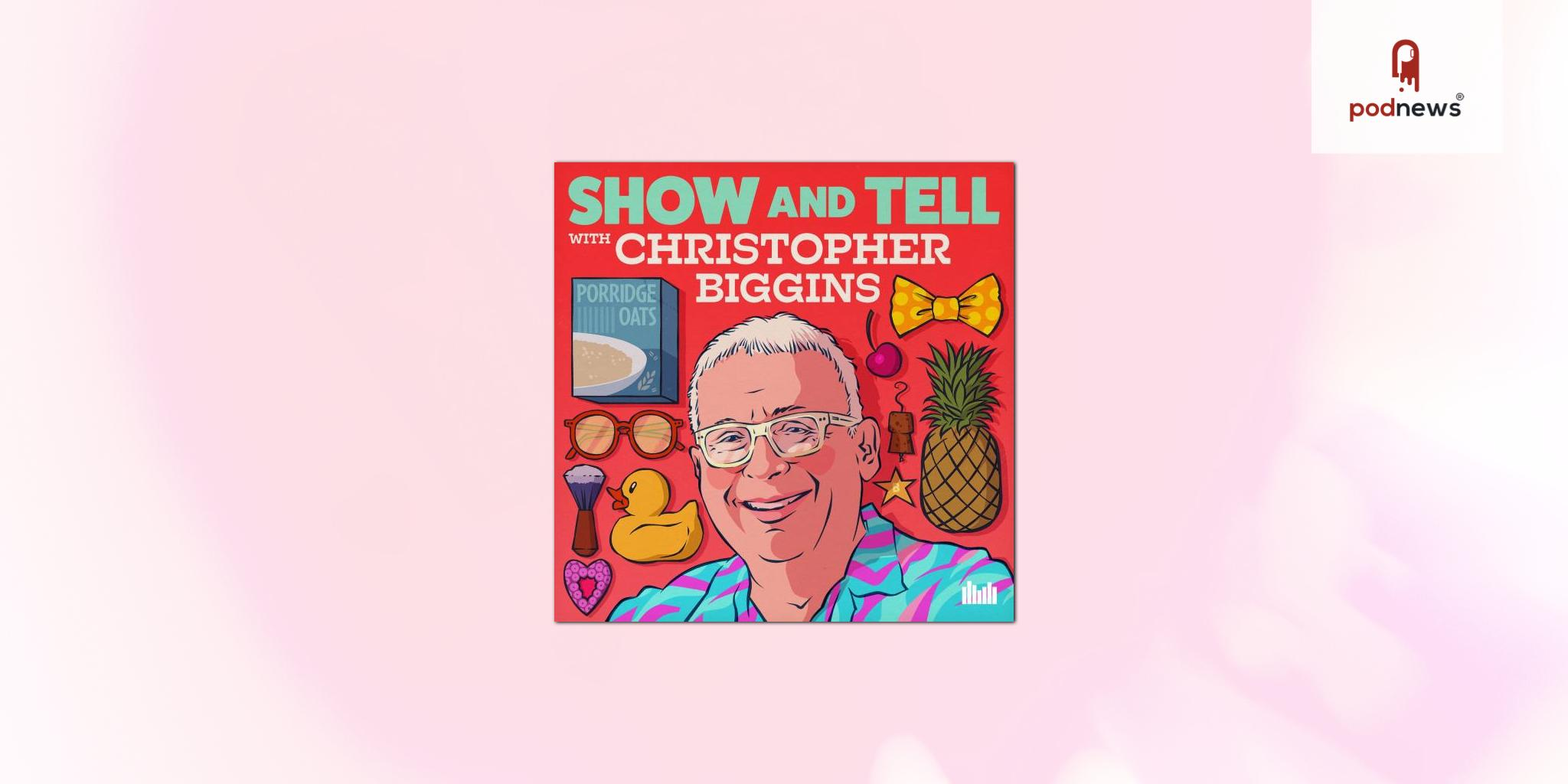 Entertainment legend Christopher Biggins launches Show And Tell podcast